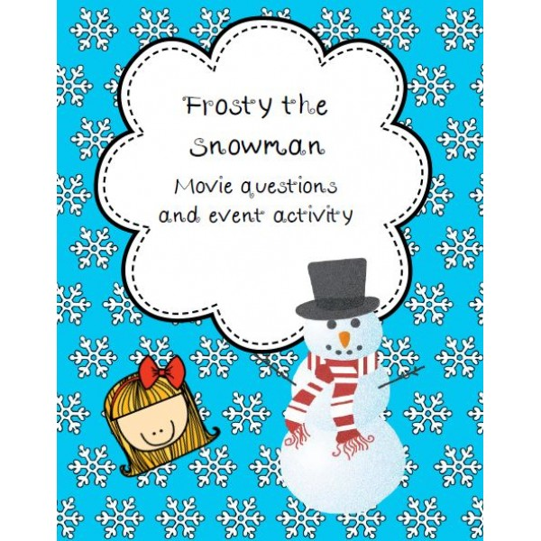 Frosty the Snowman Movie Questions, etc.