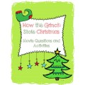 How the Grinch Stole Christmas Movie Activities