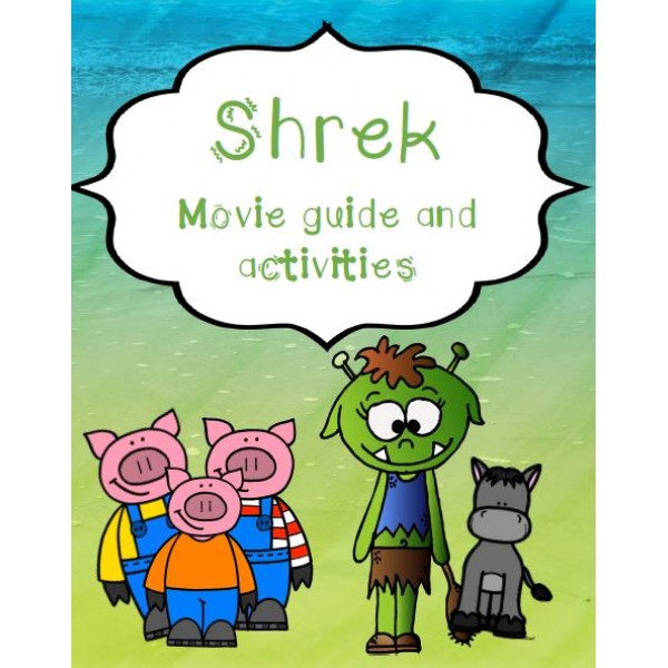 Shrek Movie Questions and Activities