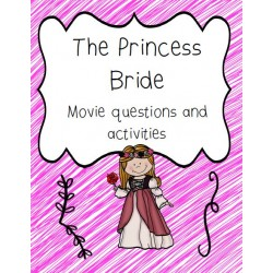 The Princess Bride Movie Questions and Activities