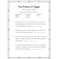 The Prince of Egypt Movie Activities