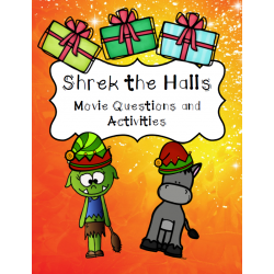 Shrek the Halls Movie Activities