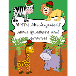 Merry Madagascar Movie Activities
