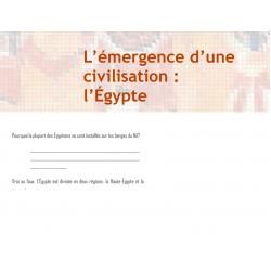 Questionnaire sur la civilisation Égyptienne