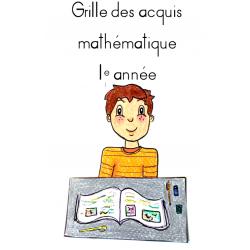 Grille des acquis mathématiques 1e année
