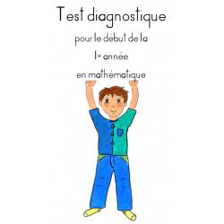 Test diagnostic mathématique 1e année