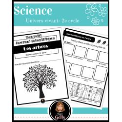 Mon petit journal scientifique- Les arbres