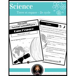 Mon petit journal scientifique- L'espace
