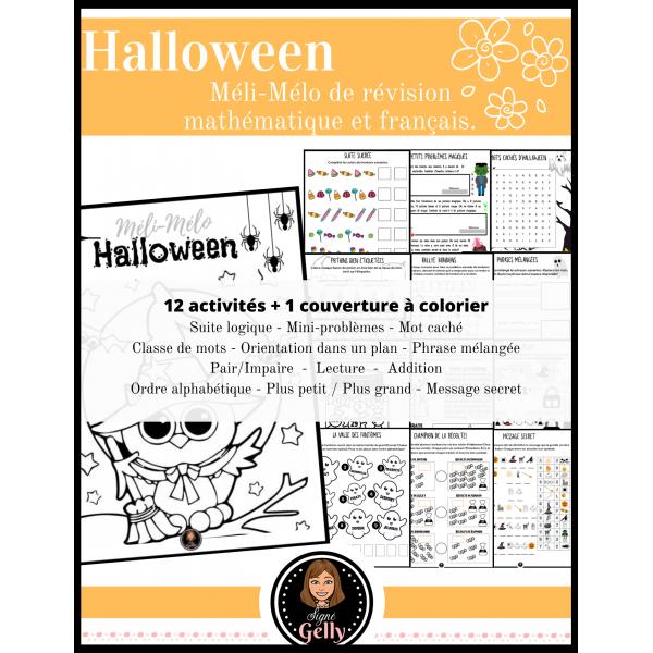 Méli-Mélo- Halloween