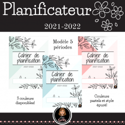 Planificateur 2021-2022- Primaire