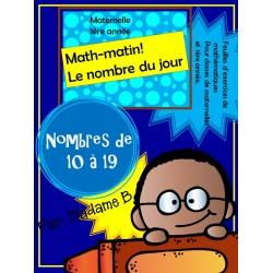 Math -matin 10 à 19