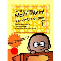Math Matin 2e et 3e année