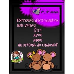 Introduction aux verbes ÊTRE AVOIR et AIMER