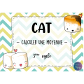 CAT - Trouver la moyenne