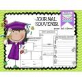Journal Souvenirs - Fin Année Scolaire