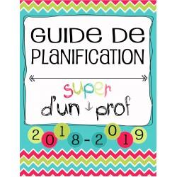 Planificateur Prof - 4 PÉR - 2AM2PM *2019-2020
