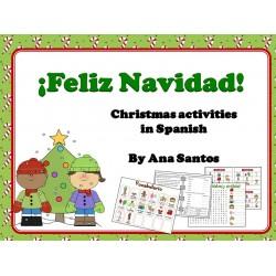 ¡FELIZ NAVIDAD!Christmas activities in Spanish