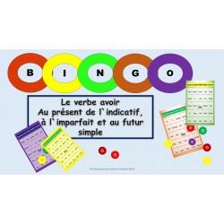 Bingo du verbe avoir