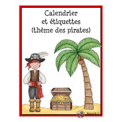 Calendrier pirates