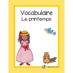 Vocabulaire (printemps, Pâques, St-Patrick)