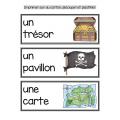 Thème des pirates mathématique et français