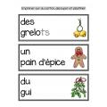 Joyeux Noël!  Mathématique et français