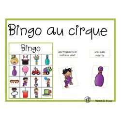 Bingo au cirque