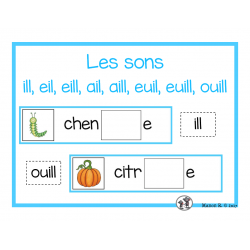 Sons complexes (ill, eil, euil, ouill)