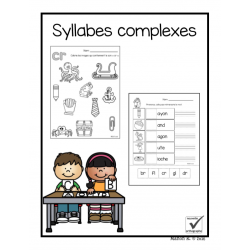 Syllabes complexes