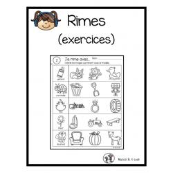 Rimes (exercices)