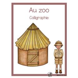 Calligraphie (Au zoo)