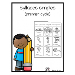 Syllabes simples (exercices)