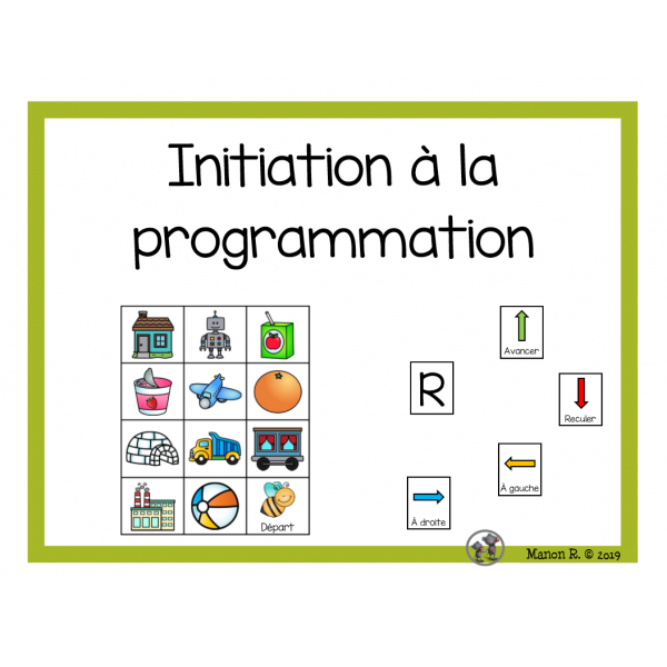 Initiation à la programmation (Son initial)