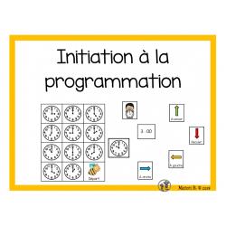Initiation à la programmation (L'heure juste)