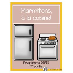 Marmitons, à la cuisine!