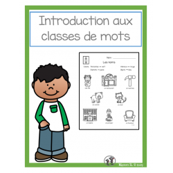 Introduction aux classes de mots