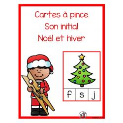 Son initial (Noël et hiver)