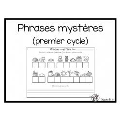 Phrases mystères