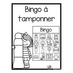 Bingo à tamponner (Pâques)