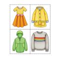 Bingo préscolaire (vêtements et accessoires)