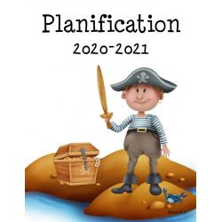 Planificateur 2020-2021 (3 am et 2 pm)