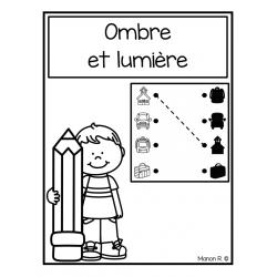 Ombre et lumière (rentrée scolaire)