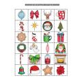 Repérage sur quadrillage Noël 2