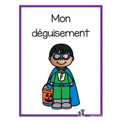 Mon déguisement  (apprentis lecteurs)