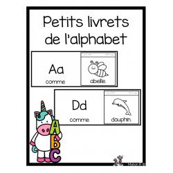 Petits livrets de l'alphabet