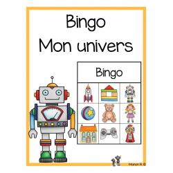 Bingo préscolaire (mon univers)