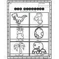 Le son manquant – thème dinosaure