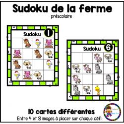 Sudoku de la ferme