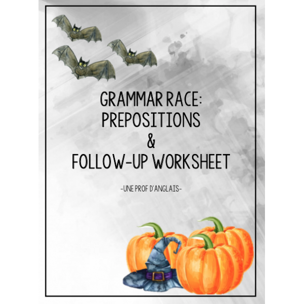 Grammar Race: Prepositions