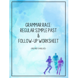 Grammar Race: Regular Simple Past